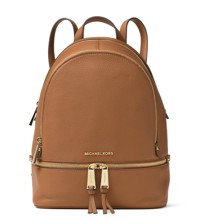 33905c99b7112 Added to Bag. MICHAEL Michael Kors Acorn Rhea Medium Leather Backpack