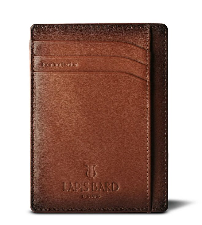 Lapis Bard Ducorium Brown Credit Card Sleeve