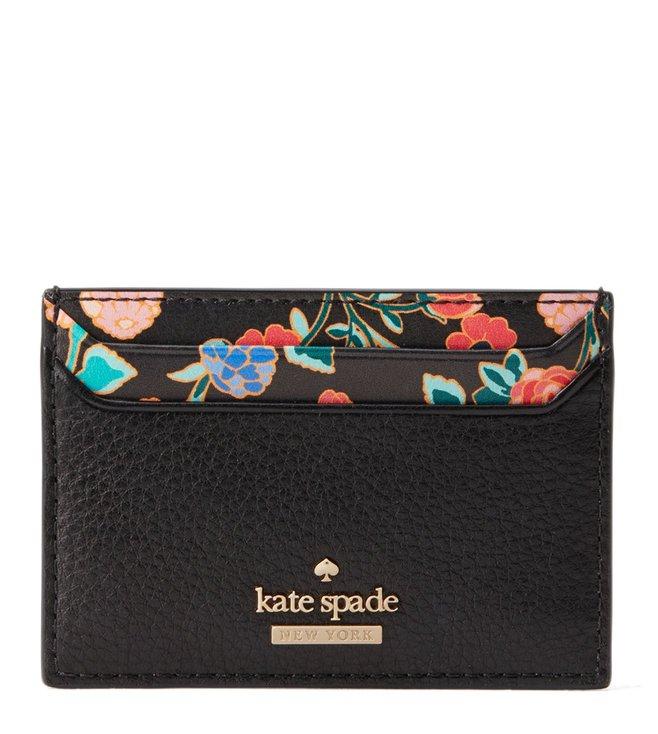 save off b9a05 e0c40 Buy Kate Spade Black Lynleigh Card Holder for Women Online @ Tata ...