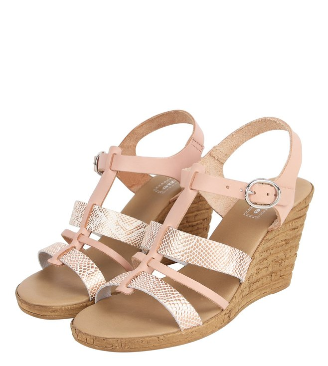 Dune London Blush Kataluna Di Back Strap Wedges