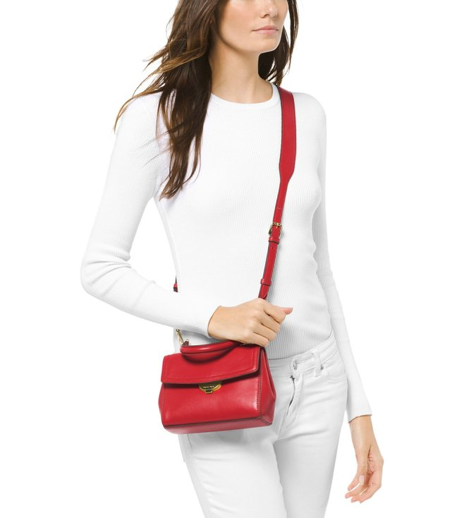 79fbc68fba55 Buy MICHAEL Michael Kors Bright Red Extra Small Cross Body Bag for ...