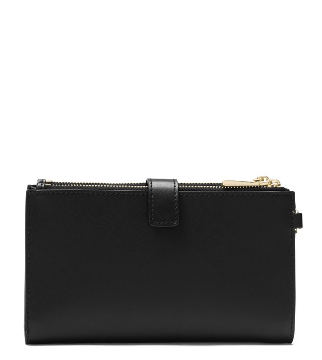 b7c51251f64349 ... MICHAEL Michael Kors Black Adele Leather Smartphone Wristlet. ×.  Previous
