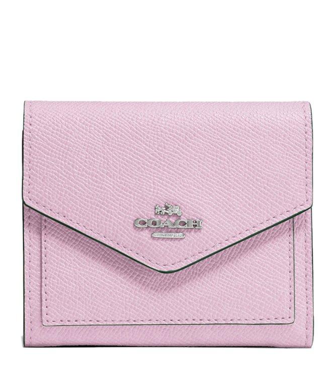 44a65cea4f6c Buy Coach Ice Purple Crossgrain Leather Wallet for Women Online ...