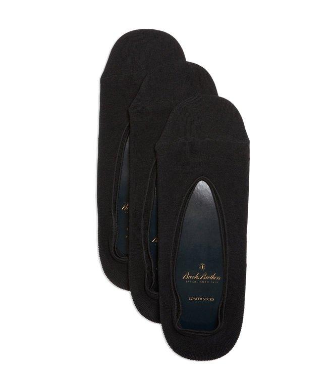 5a921cca14d Buy Brooks Brothers Black Loafer Socks - Pack Of 3 for Men Online ...