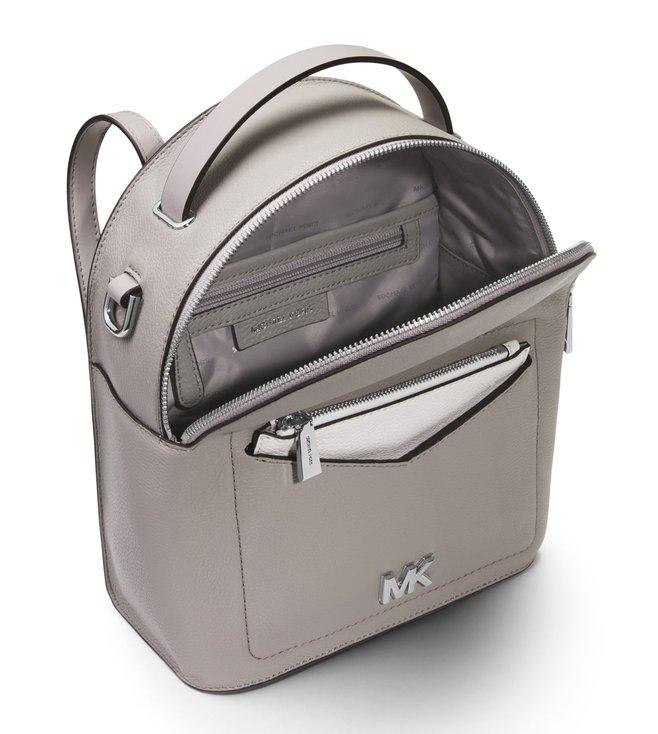 6f7f1bb511e88b Buy MICHAEL Michael Kors Pearl Grey Jessa Small Backpack for Women ...