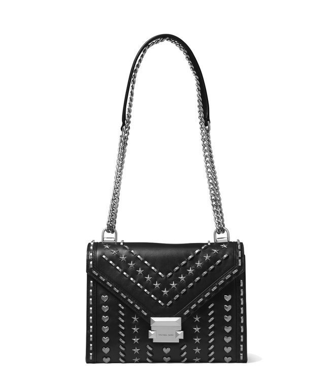 d30595a412b9 Buy MICHAEL Michael Kors Black Whitney Large Shoulder Bag for Women ...