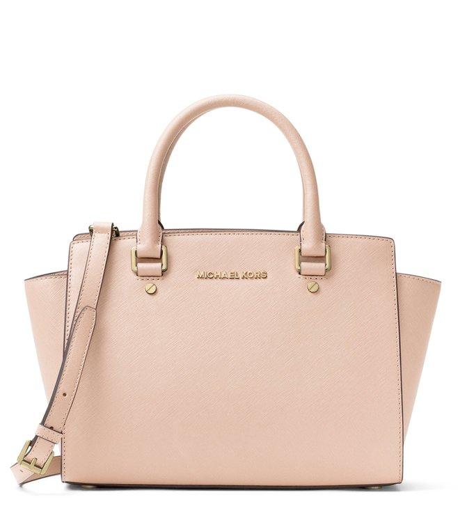 fd21ee32f464 Buy MICHAEL Michael Kors Soft Pink Selma Medium Satchel for Women ...