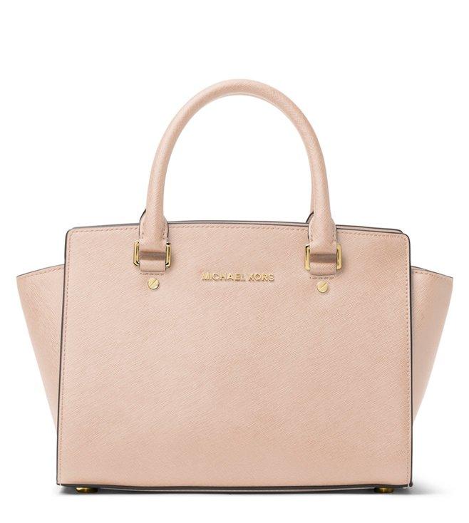 b752598dad785e Buy MICHAEL Michael Kors Soft Pink Selma Medium Satchel for Women ...