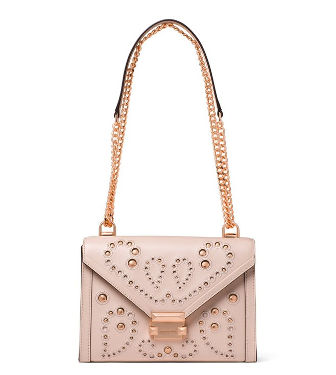 74e0d052859f51 Added to Bag. MICHAEL Michael Kors Soft Pink Whitney Large Shoulder Bag
