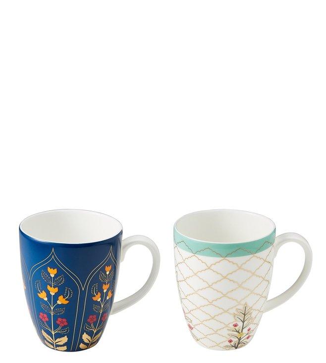 Buy Kika Tableware Blue The Royal Heritage Ba Mug Pack Of 2 Online