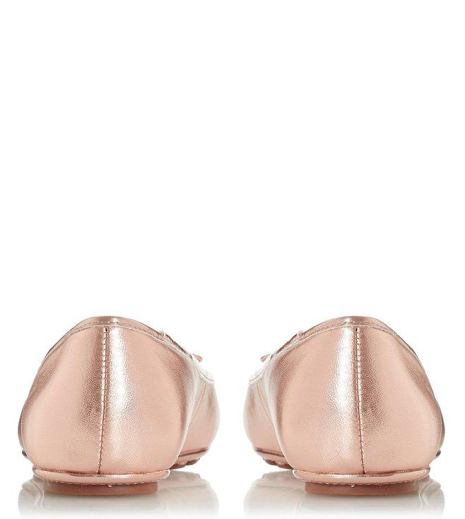 5d5575c44 Buy Dune London Rose Gold Harland Slip-On Ballerinas for Women ...