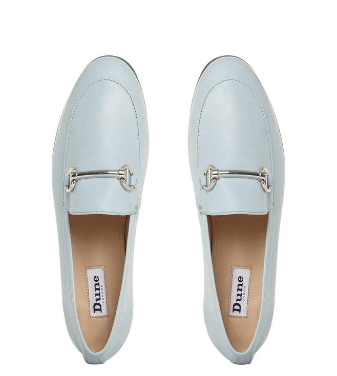 21ad2b49f8c Buy Dune London Pale Blue Guilt Slip-On Loafers for Women Online ...