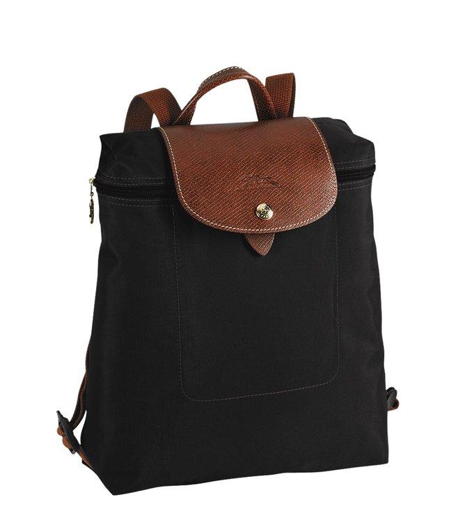 ff9172effb1b Buy Longchamp Le Pliage Black Small Backpack for Women Online   Tata ...