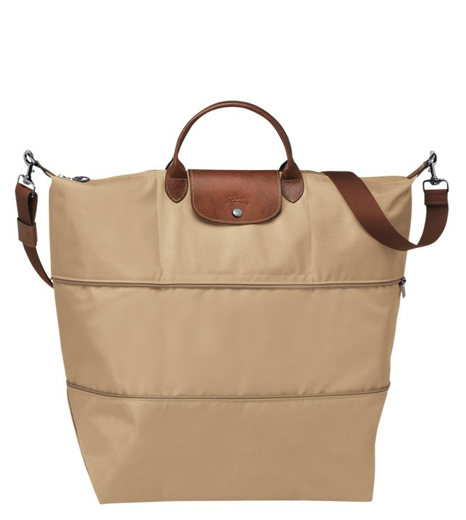 661ee2d66f Buy Longchamp Le Pliage Beige Extra Large Travel Bag for Women ...