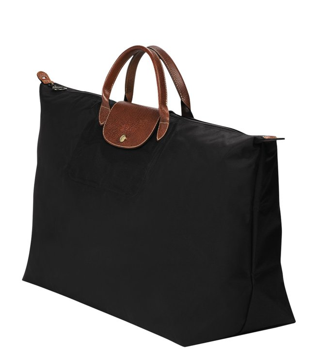 bb61badf7db2 Buy Longchamp Le Pliage Black Extra Large Travel Bag for Women ...