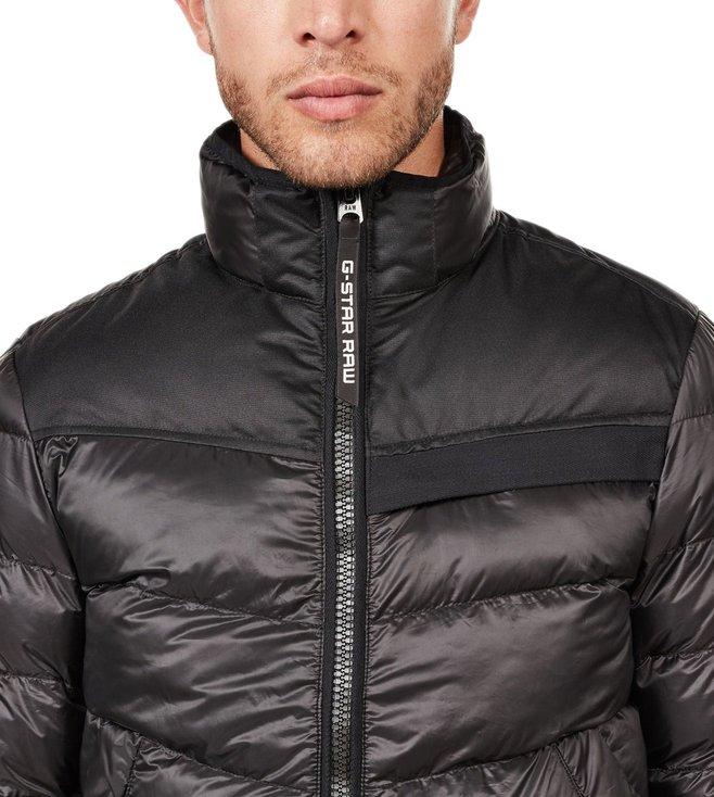 8e8d9a489a2 Buy G-Star RAW Dark Black Deline Jacket for Men Online @ Tata CLiQ ...