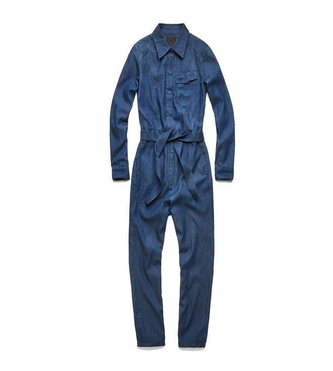 3288df69fe2 Buy G-Star RAW Blue Tacoma Jumpsuit for Women Online   Tata CLiQ Luxury