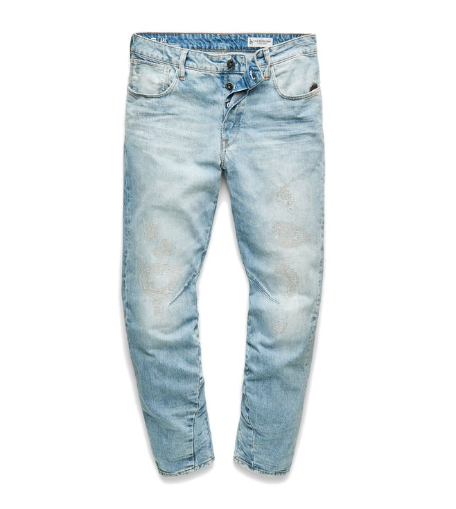 6b85c19622d Buy G-Star RAW Blue Arc 3D Tapered Fit Jeans for Men Online @ Tata ...