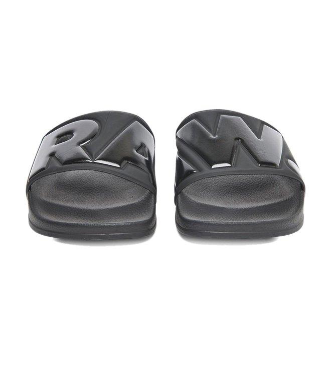 ca5e8e55c8b5 Buy G-Star RAW Black Cart Slides for Men Online   Tata CLiQ Luxury