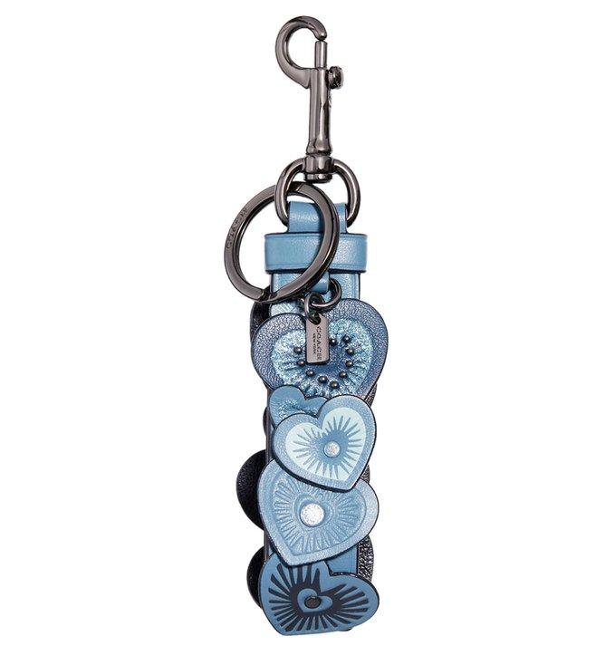 2ec132874 Buy Coach Chambray Floppy Heart Applique Bag Charm for Gifting   Novelty  Online   Tata CLiQ Luxury