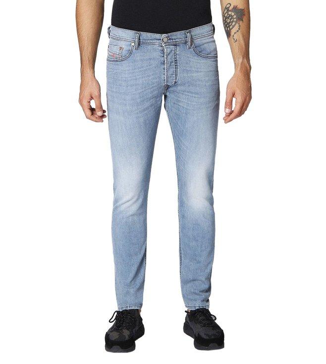 43abe991 Buy Diesel Lightly Washed Blue Tepphar L.32 Pantaloni Jeans for Men ...