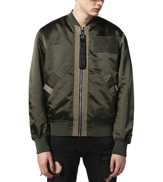 pretty nice 06da8 a1a54 Buy Diesel Forest Night J-West Giacca Jacket for Men Online ...