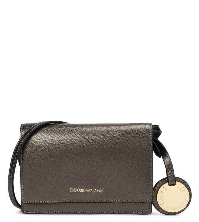 ea58350ada Buy Emporio Armani Flap Over Style Small Cross Body Bag for Women ...