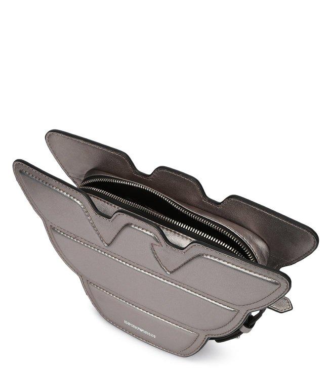 c3f4e3185fcd Buy Emporio Armani Nero Logo Shaped Mini Cross Body Bag for Women ...