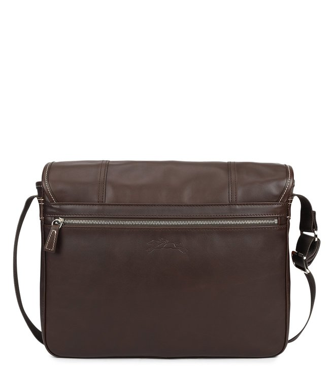 e6f7ea4839 Buy Longchamp Mocha Cavalier Medium Messenger Bag for Men Online ...