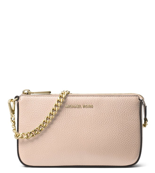 0d8fb4f0bf2e Buy MICHAEL Michael Kors Soft Pink Medium Clutch for Women Online ...