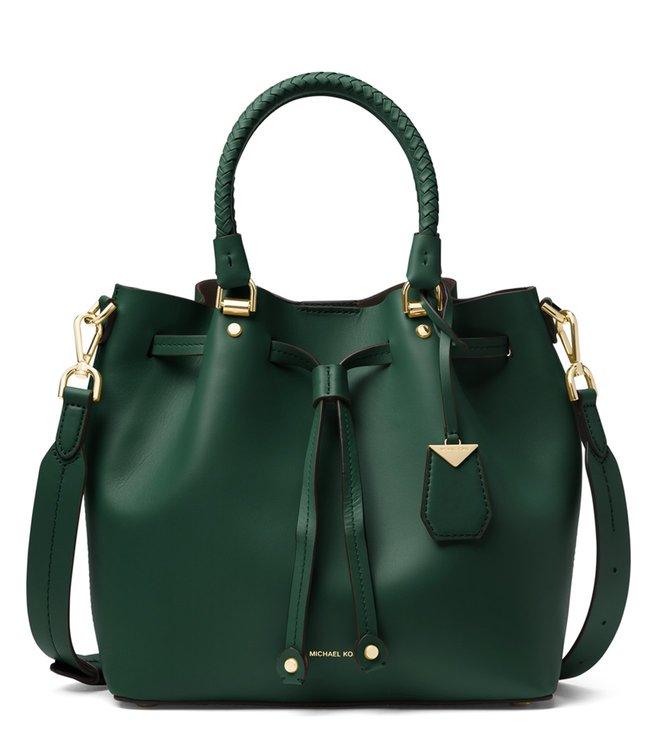 707ee239e30d Buy MICHAEL Michael Kors Racing Green Blakely Medium Bucket Bag for ...