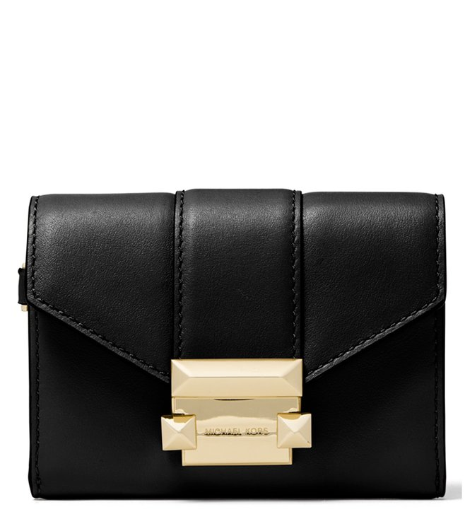 81ed4aaaef62 Buy MICHAEL Michael Kors Black Whitney Medium Clutch for Women ...