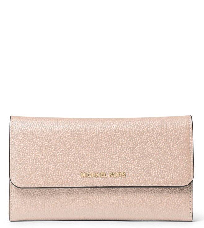 9afdb65ce35c Added to Bag. MICHAEL Michael Kors Soft Pink Medium Money Pieces Wallet