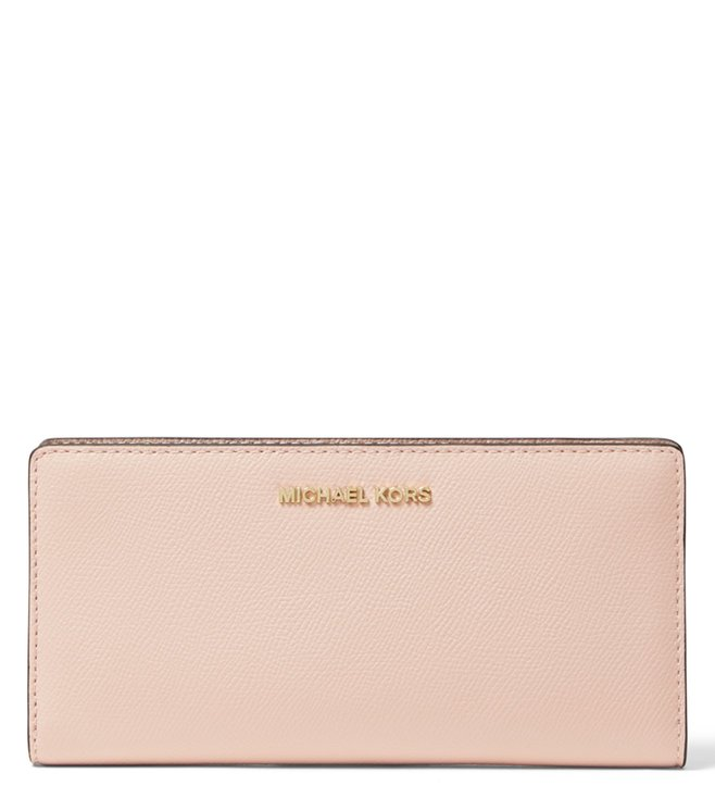 8133859c6e494f Added to Bag. MICHAEL Michael Kors Soft Pink & Fawn Small Money Pieces Card  Holder