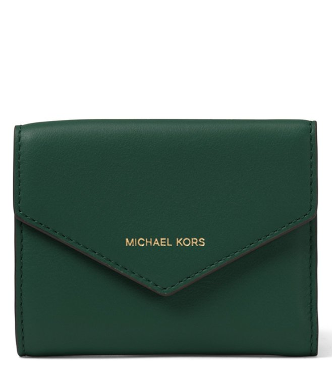 319e35d0379c Buy MICHAEL Michael Kors Racing Green Blakely Small Wallet for Women ...