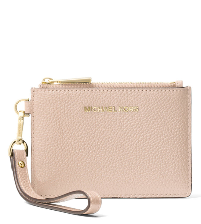6a512df8f6dfc8 Buy MICHAEL Michael Kors Soft Pink Small Money Pieces Wallet for ...
