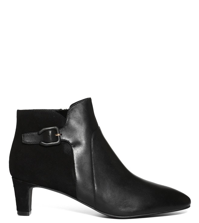 Cole Haan Black Sylvia 50 mm Booties