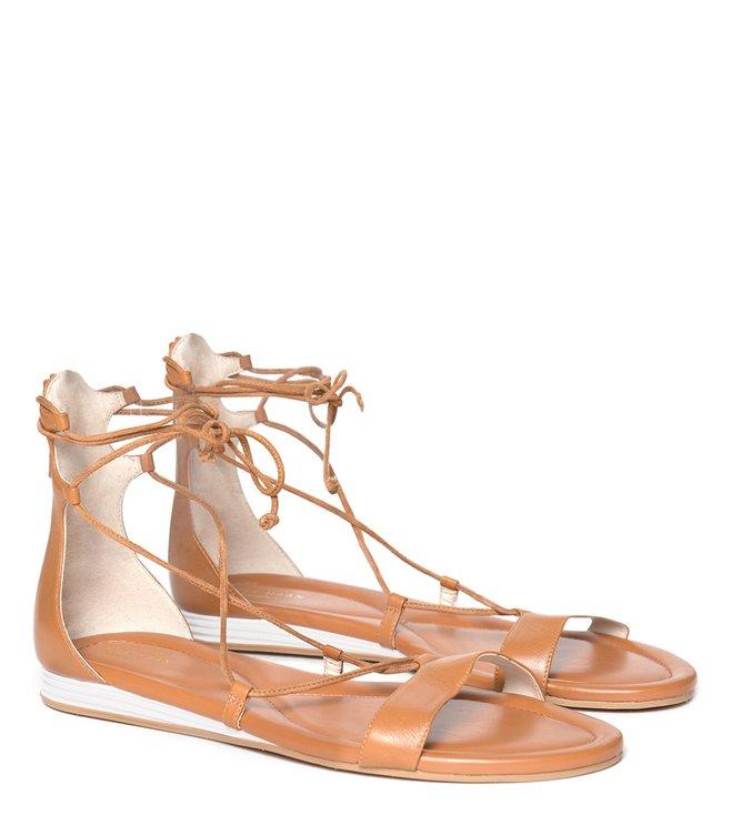 c6e902ce1d12 Buy Cole Haan Tan Original Grand Ankle Strap Sandals for Women ...