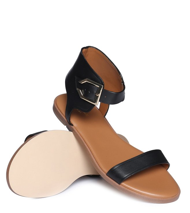 be2381d92586 Buy Cole Haan Black Anica Cuff Ankle Strap Sandals for Women Online ...