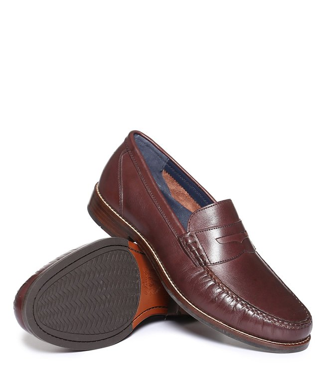 0fac2f42654 Buy Cole Haan Brown Pinch Grand Classic Penny Loafers for Men Online ...