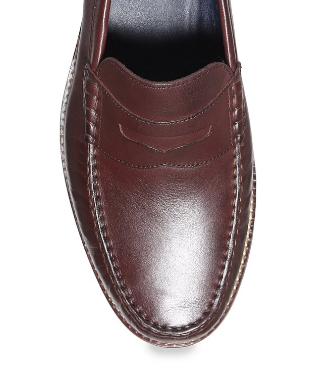753e46af77b Buy Cole Haan Brown Pinch Grand Classic Penny Loafers for Men Online ...