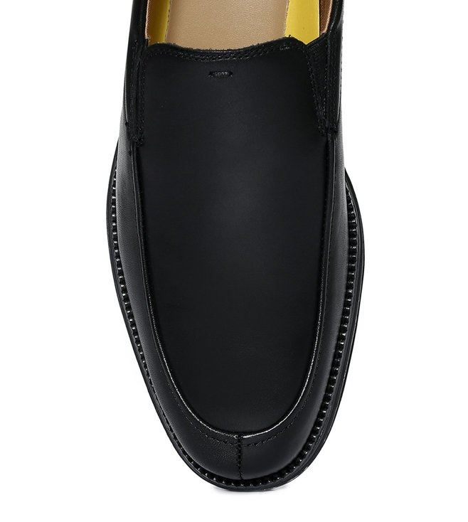 092d779e6f6 Buy Cole Haan Black Originalgrand Venetian Lux Loafers for Men ...