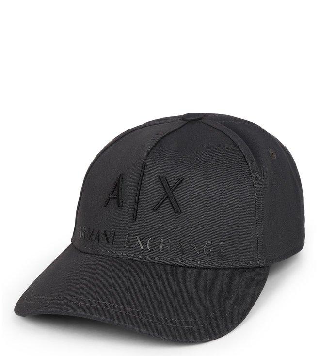 63895ddc4f6 Buy Armani Exchange Magnet Corp Logo Cap for Men Online   Tata CLiQ ...