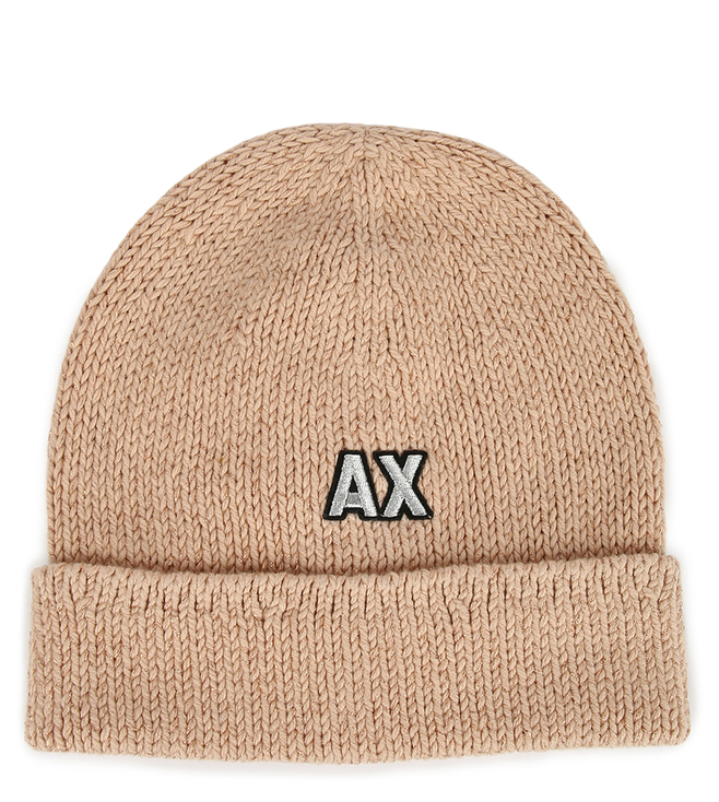 e1bce7f5aa0 Buy Armani Exchange Pinacolada Embroidered Glitter Logo Beanie for ...