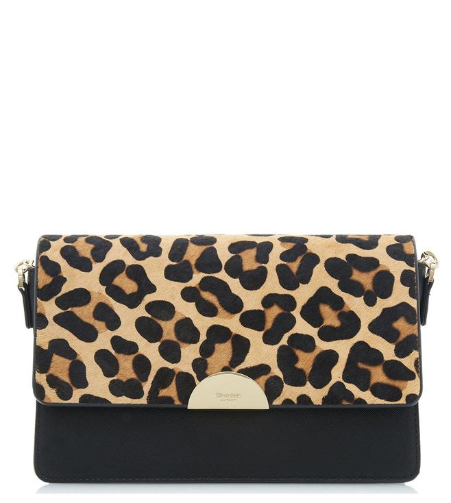 eca54bc5202a3 Buy Dune London Leopard Pony Evonia Cross Body Bag for Women Online ...