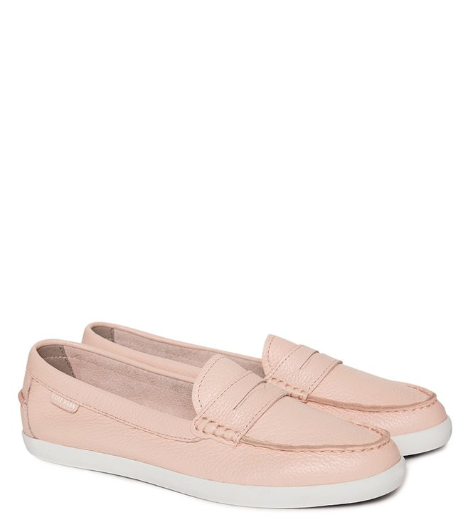 a48fcb26029 Cole Haan. Cole Haan Baby Pink Tali Pinch Weekender Leather Loafers ...