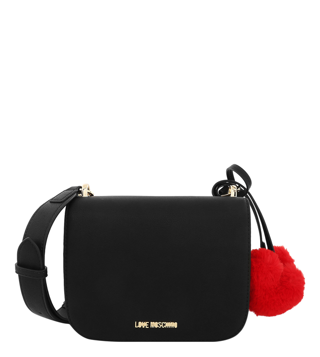 fc12dc05fb Buy Love Moschino Nero Little Heart Small Cross Body Bag for Women ...