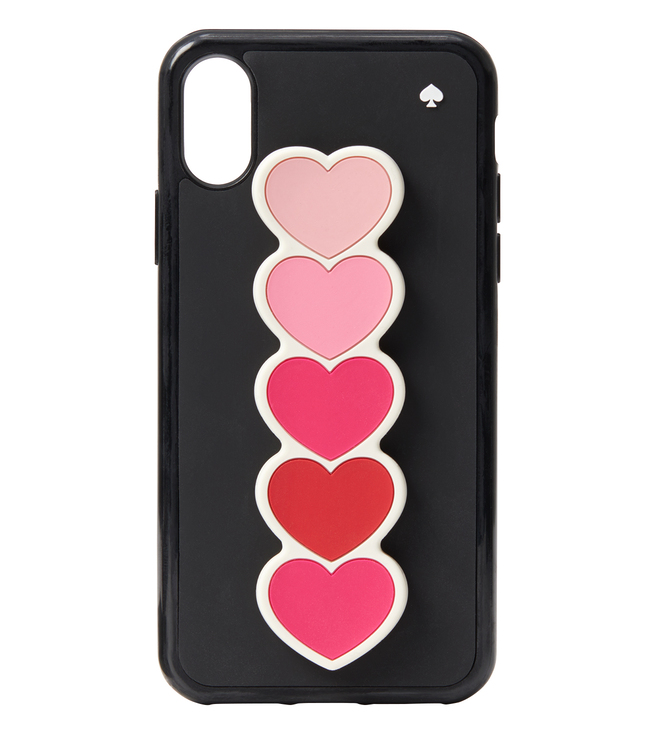 Buy Kate Spade Multi Ombre Heart Stand iPhone X   XS Case for Women ... d95496e64