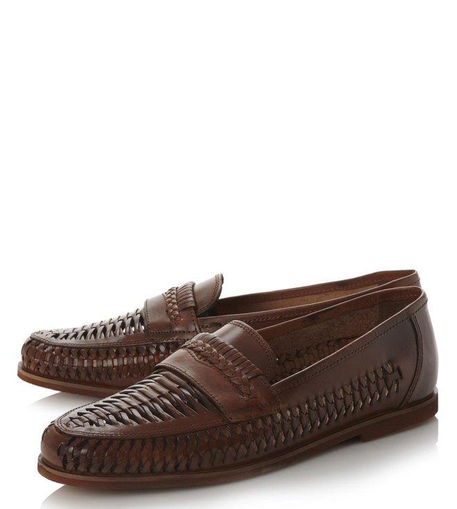 e866fc7da7d Buy Dune London Tan Brighton Rock Loafers for Men Online @ Tata CLiQ ...