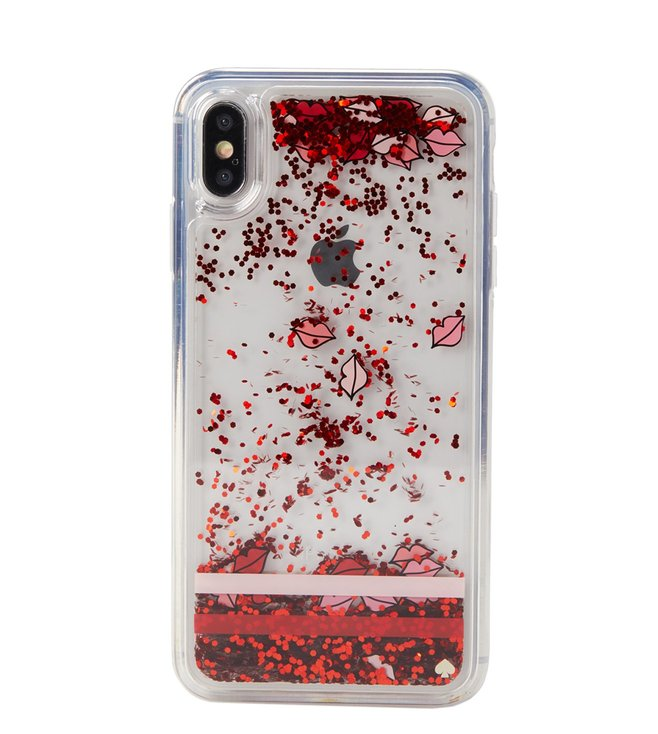 lips iphone xs max case